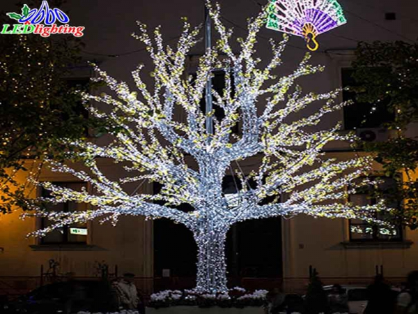 Outdoor Christmas Ribbon.Christmas Ribbon Christmas Tree Christmas Tree Ball Lights